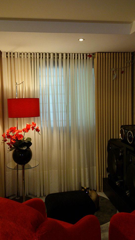 Modelos cortinas para sala la cortinella for Modelos de cortinas