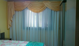 cortina com bando