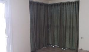Cortina para janela sacada