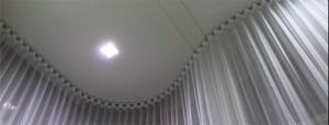 cortina em curva
