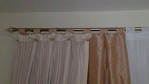 Varão e ponteira de cortina