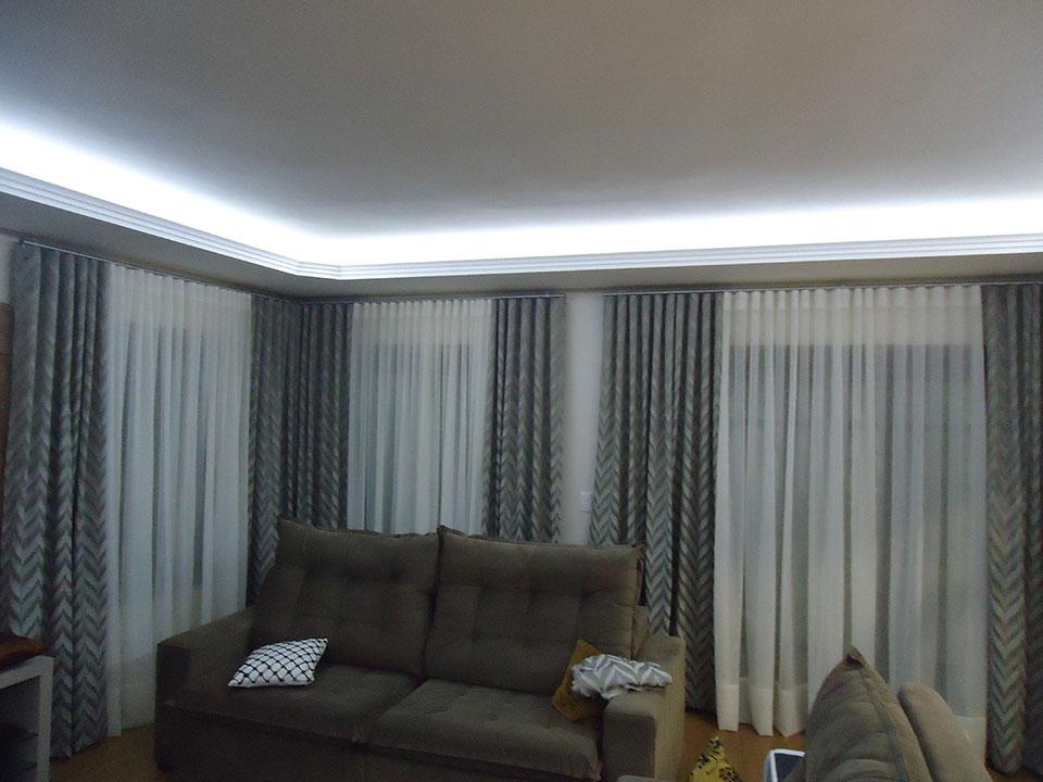 Sala para 2017 cortinas for Cortinas blancas para sala